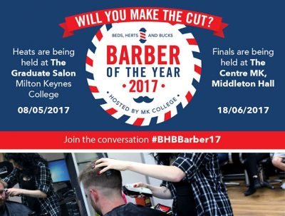 Barber of the Year at Milton Keynes College